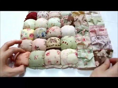 Easy Puff Quilt Tutorial - YouTube