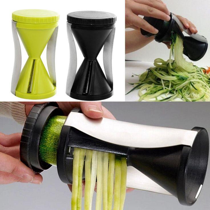 KitchenRave Zucchini Spiralizer and Veggie Pasta Maker