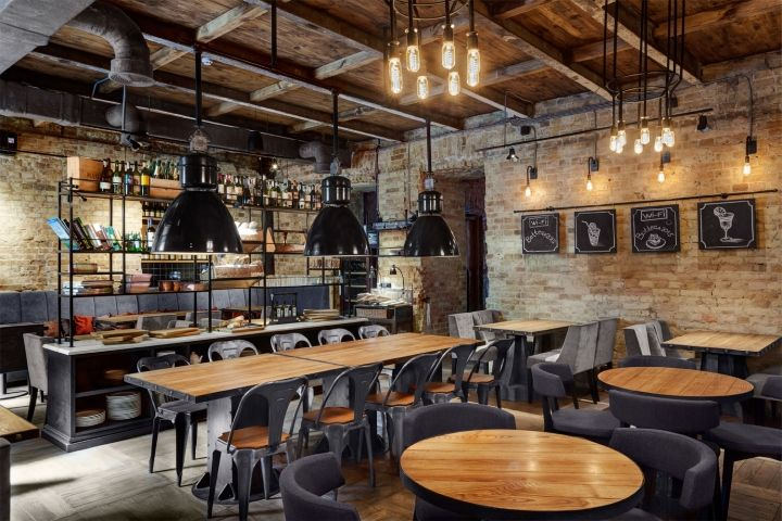 Bottega Wine & Tapas Restaurant by Kley Design, Kiev – Ukraine » Retail Design Blog