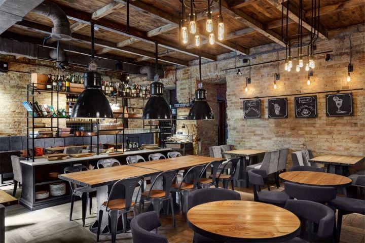 Bottega Вино & Тапас Ресторан в KLEY дизайна, Киев - Украина »Розничная дизайн блога