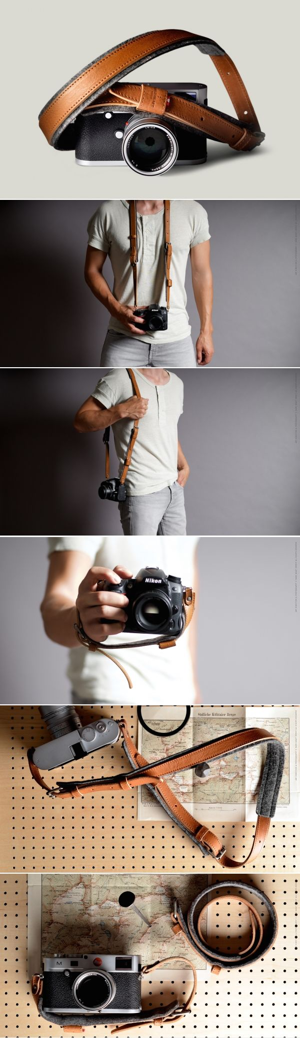 #hardgraft Re-Process Camera Strap