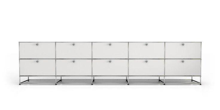 Schön Usm Haller Sideboard Weiss | Büro | Pinterest | Modular Furniture,  Drawers And Metals Pictures Gallery