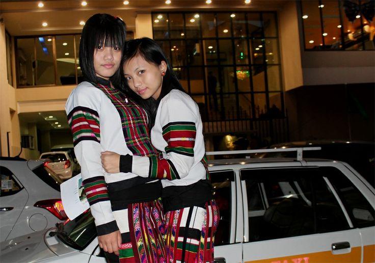 Two beautiful Mizo ladies. Photographed by Muana Leo Khawlhring