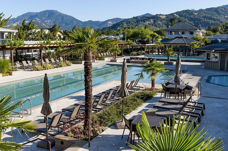 A wellness retreat to Calistoga Spa Hot Springs! # ...