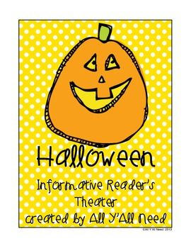 Halloween Informative Reader's Theater