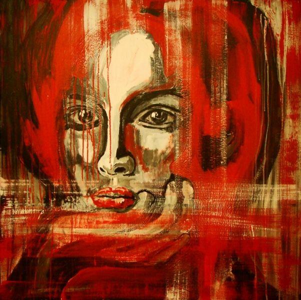 Wojciech Bąbski, Redhead, 2013 #art #contemporary #artvee