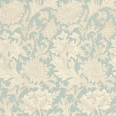 Chrysanthemum Toile wallpaper by Morris