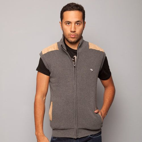 Less Grey Knitted Vest
