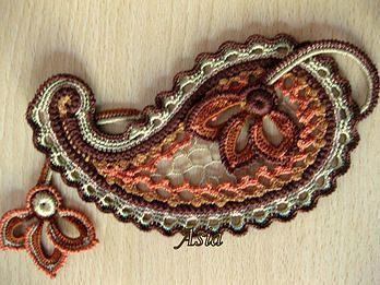 patterns on Irish Crochet Lace