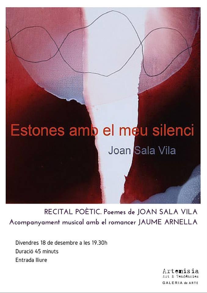 Recital poètico con Joan Sala Vila y el acompañamiento musical del romancero Jaume Arnella