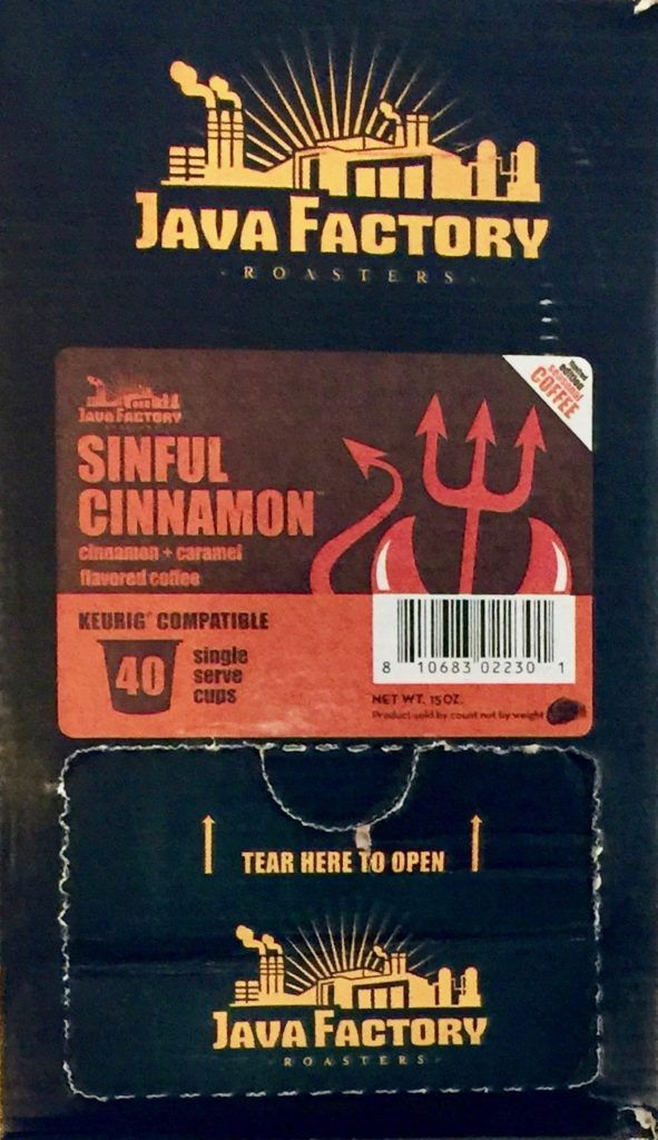Java Factory Roasters Sinful Cinnamon Coffee Review