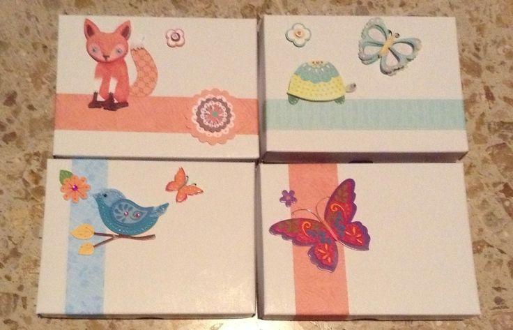 I use to give handmade presents to my family and friends, and these boxes with things inside are always welcome