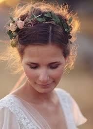 花かんむり 結婚式 おでこ - Google Search