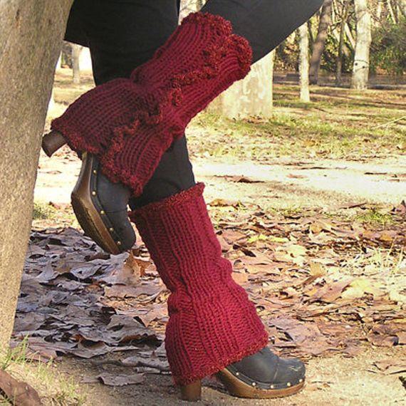 ¡Fanáticos del tricot! Se vuelven a llevar los calentadores. we ♥ wool     http://www.neodalia.com/es/ventas/calentadores-cool