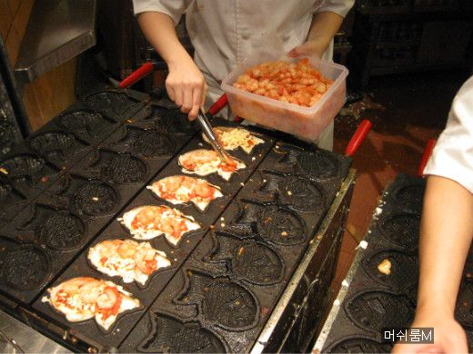 버섯돌이 세상 :: 홍콩에서 먹어 본 붕어빵은 다르다.