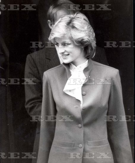 February 22 1984 Princess Diana visits the British Red Cross Society's National Headquarters in London