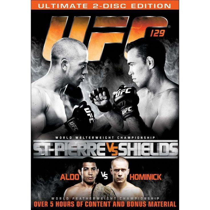 Ufc 129: St-Pierre vs. Shields (2 Discs) (dvd_video)