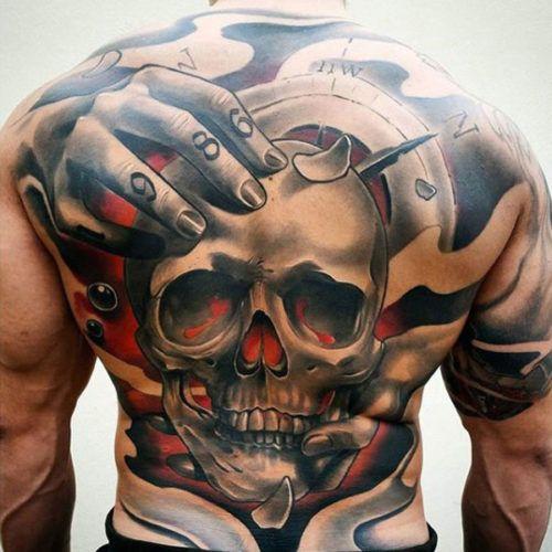 109 Best Back Tattoos For Men: 25+ Best Ideas About Men Back Tattoos On Pinterest