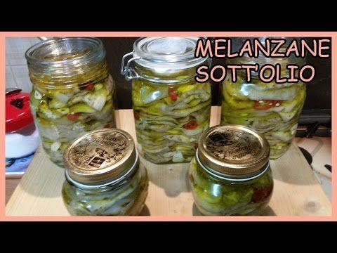 Melanzane sott'olio - Come mantenere le melanzane bianche - Le Ricette di Zio…