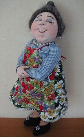 Jan Horrox Cloth Doll and Textile Supplies — Winnie Mae by Jill Maas