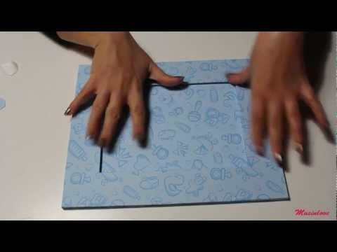 Cornice in carta decorata _ Tutorial Musinlove.mp4 - YouTube