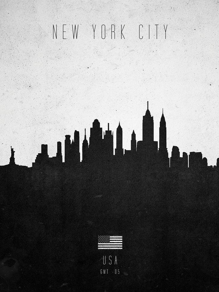 New York Contemporary Cityscape – Calm The Ham