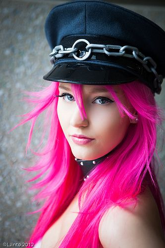 Yep...it's that time again.  Time to re-do my Pink hair...only all over! :)