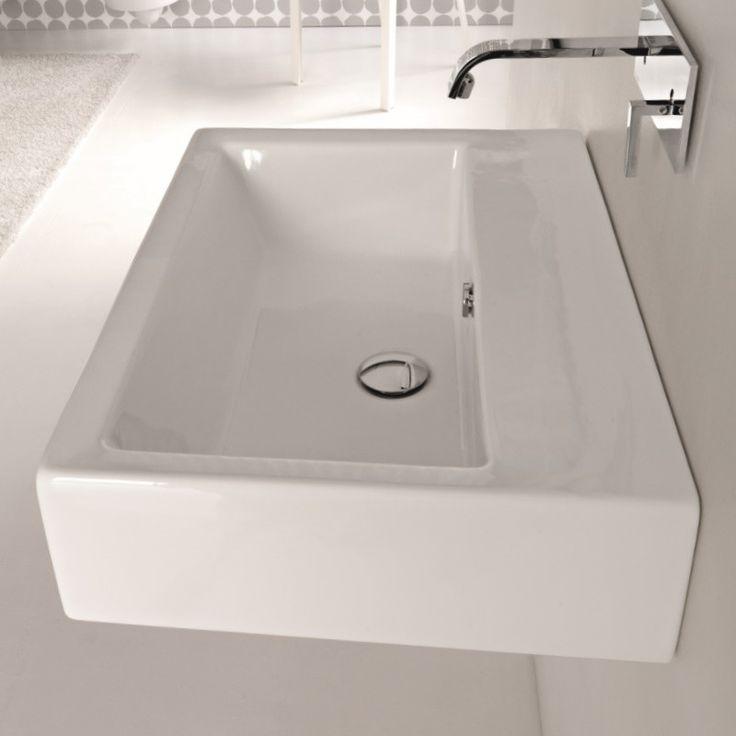 loft lo52 waschtisch 80cm ohne hahnloch hidra. Black Bedroom Furniture Sets. Home Design Ideas