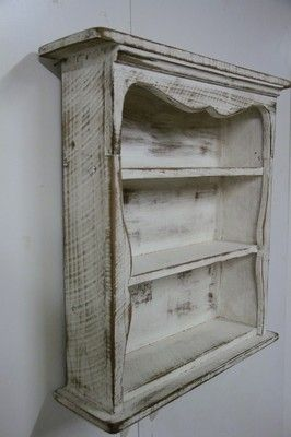 Creating things that look like they've been around for years is my inspiration. I just love the look of old wood and old chipping paint. I try to offer those two looks in my designs.
