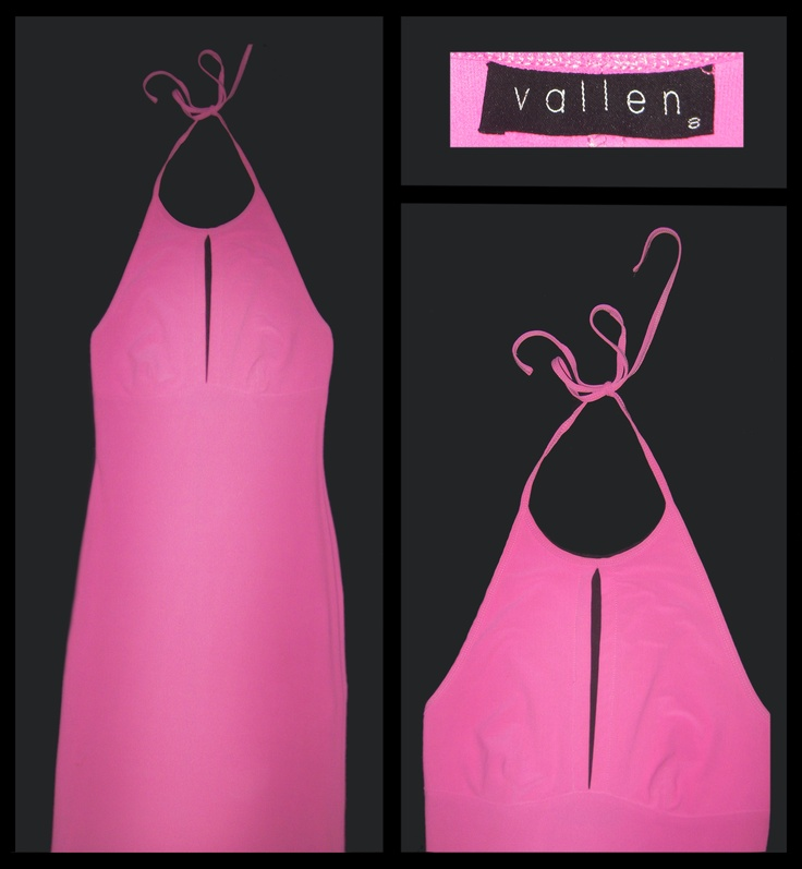 Vallen, pink chest split halter  Size: 8  Price: $20