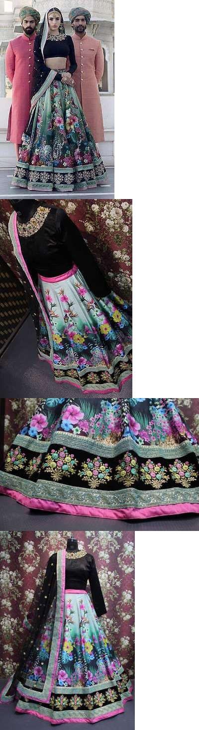 Choli 155247: New Designer Indian Bridal Heavy Work Lehenga Pakistani Wedding Ghagra Choli Ka8 -> BUY IT NOW ONLY: $98 on eBay!