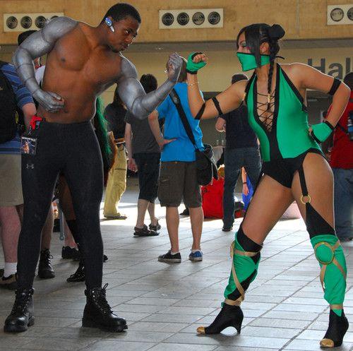 mortal kombat cosplay Jax