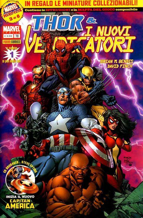 Capitan America e i Vendicatori 1 Appena ho scoperto una serie scritta dal mitico Ed Brubaker che ancora non avevo letto sono scattato all'istante! #Marvel #PaniniComics #CaptainAmerica #TheNewAvengers #EdBrubaker