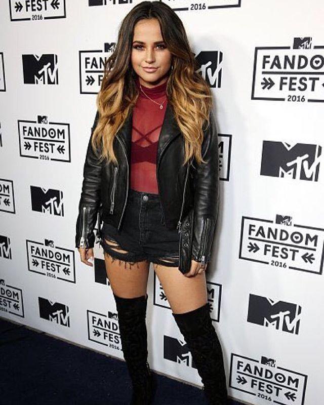 Becky G at MTV Fandom Awards