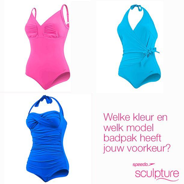 Welke kleur en welk model badpak heeft jouw voorkeur? #LoveYourSwim #SpeedoSculpture #Figuurcorrigerend #Zwemmen