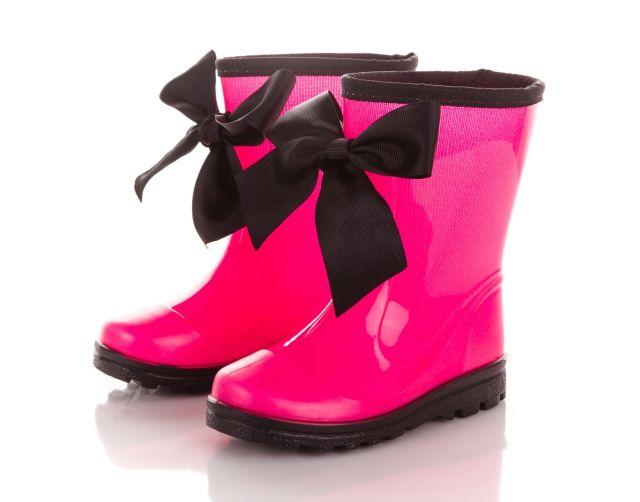 GUMMIE kids wellies / wellingtons / rubbers / rubber boots / kalosze / kaloszki / dziecięce / kokardki / bows / ribbons - www.gummiestore.com
