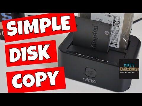 Unitek Y-3032 Dual Bay USB3 HDD SSD Docking Station And Disk