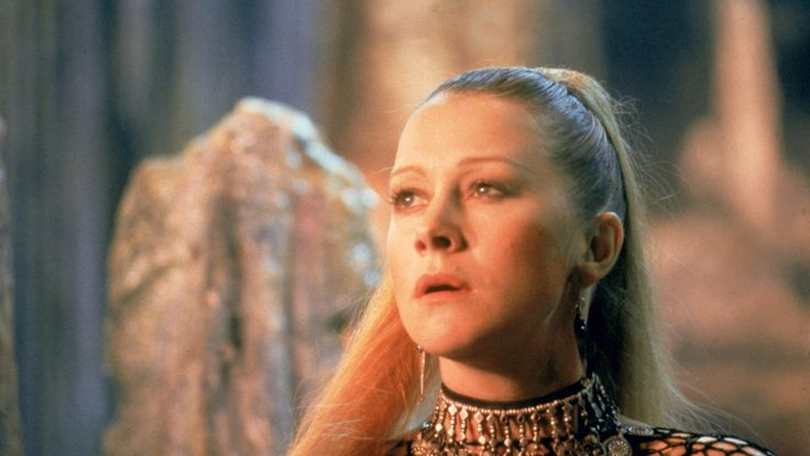 Helen Mirren in Excalibur (1981)  A Twenty-Something Edward Norton Thought Helen Mirren Was Hitting On Him   #movies #films #anecdote #edward #norton #helen #mirren #video #late #night #conan #team #coco #interview #excalibur #morgana #fantasy #collateral #beauty