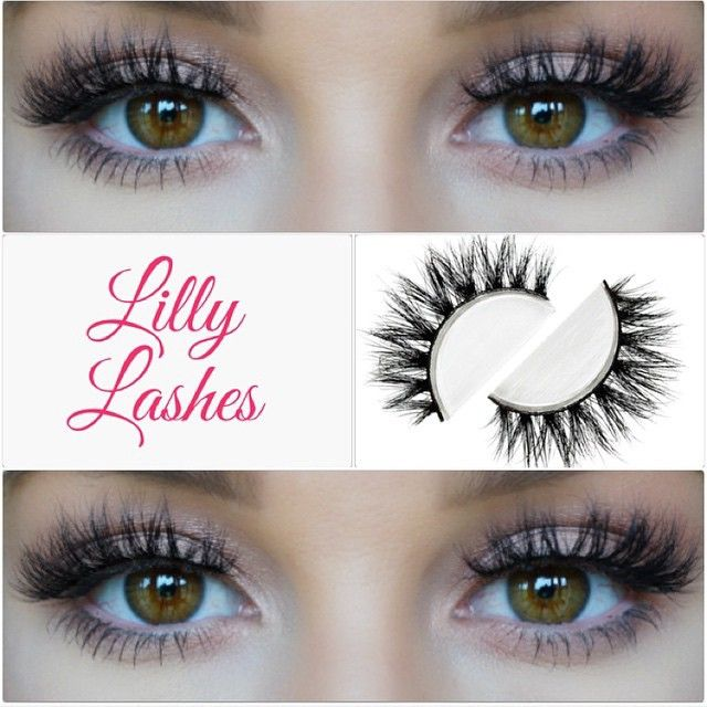 """LASHES!! @brittanylkerr wearing New 3D Mink @LillyLashes in style """"Mykonos""""  You get 20-25 wears out of the 3D Minks! #GhalichiGlam #LillyLashes"""