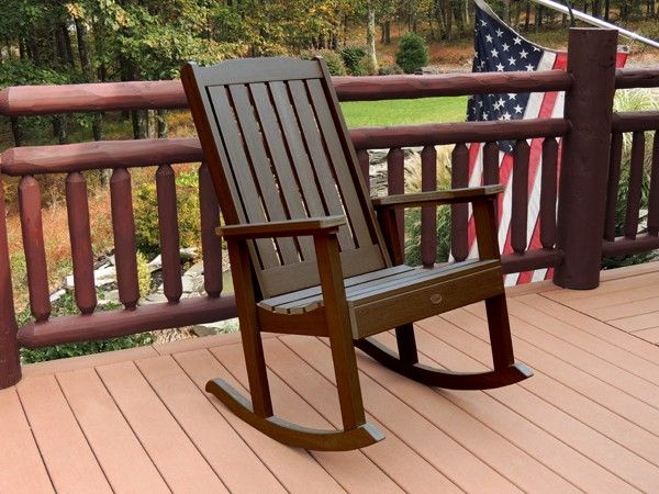 Attractive Lehigh Rocking Chair Constructed Of Eco Friendly Synthetic Wood Material.  Looks And Feels Just Like Natural Wood. Easy To Clean With Hot Soapy Water. Good Ideas