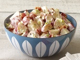 Picture of Bacon-Ranch Potato Salad Recipe: Pool Parties, Side Dishes, Bacon Ranch Potatoes, Yummy Recipes, Recipes Bbq, Food Side, Potato Salad Recipes