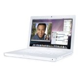 Apple MacBook MB062LL/B 13.3-inch Laptop (2.2 GHz Intel Core 2 Duo Processor, 1 GB RAM, 120 GB Hard Drive, 8x SuperDrive) White (Personal Computers)By Apple