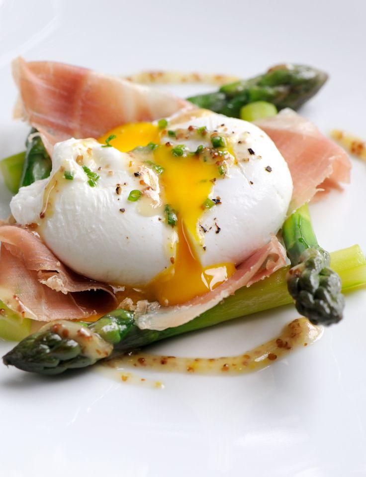 ... asparagus dressing eggs duck english asparagus yolks egg poached duck
