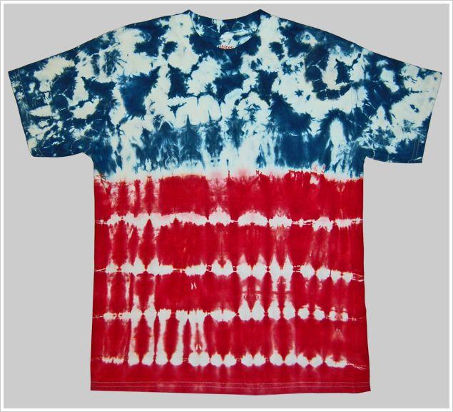 4th of July Tie Dye Project