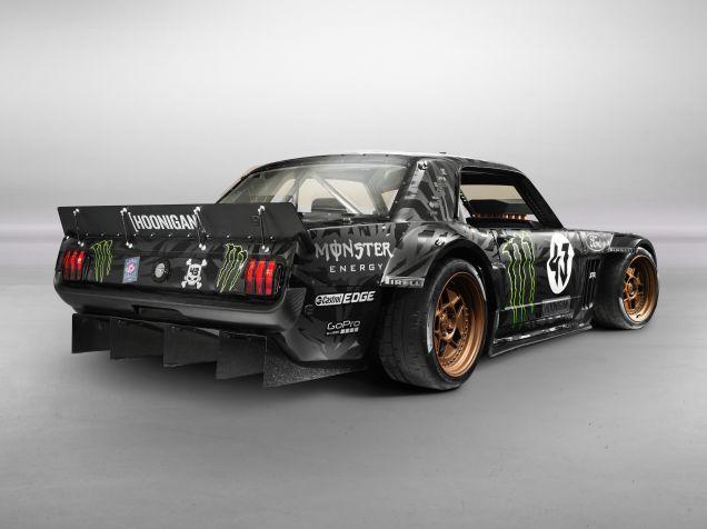 Ken Block's Gymkhana 7 Car Is A Monstrous 845 HP AWD 1965 Ford Mustang
