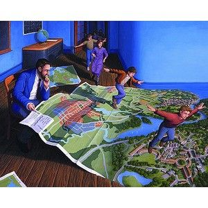 Rob Gonsalves. Magical realism
