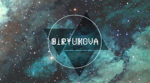 logo for yourself. Biryukova.