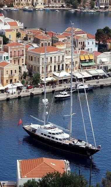 ~Yialos, Symi Island, Greece~ Tour or Cruise the Greek Islands