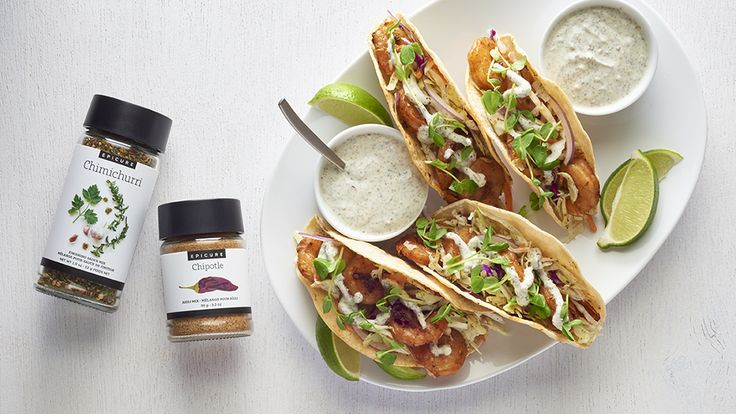 Chipotle Grilled Shrimp Tacos