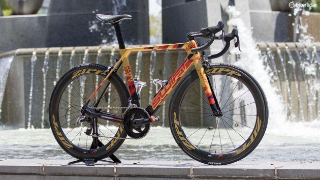 Aero framed bike